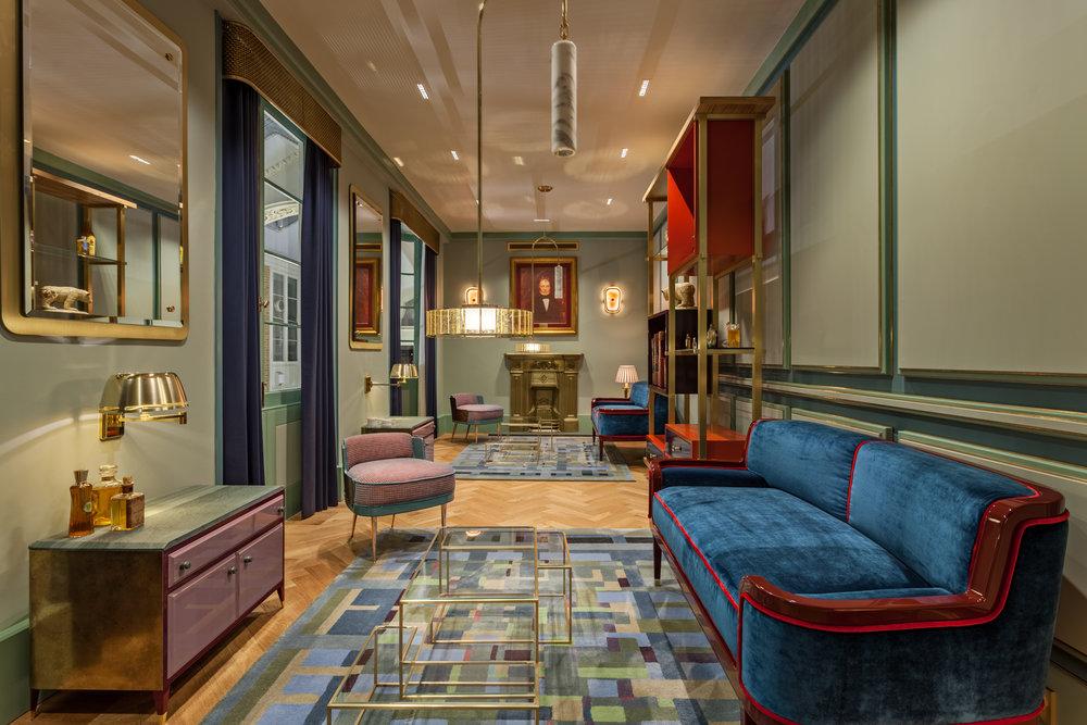 Atkinsons 1799 Burlington Arcade - Consultation lounge © Michael Franke