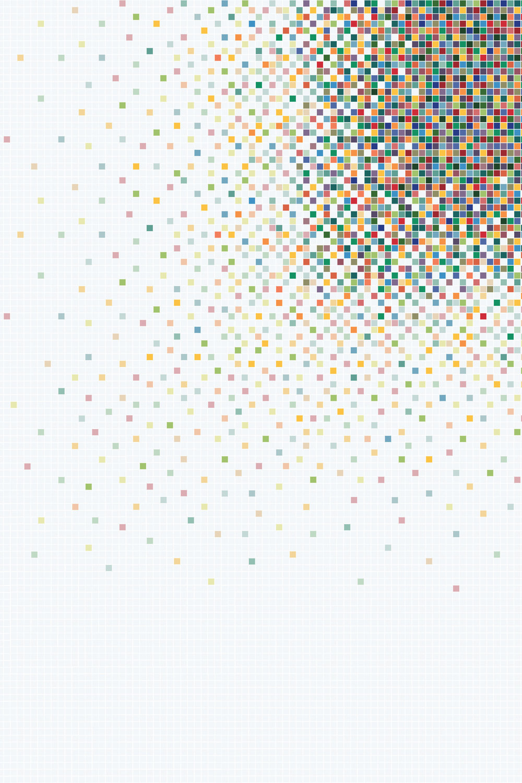 Kusmi Tea - World Trade Centre - Bisazza mosaic pattern