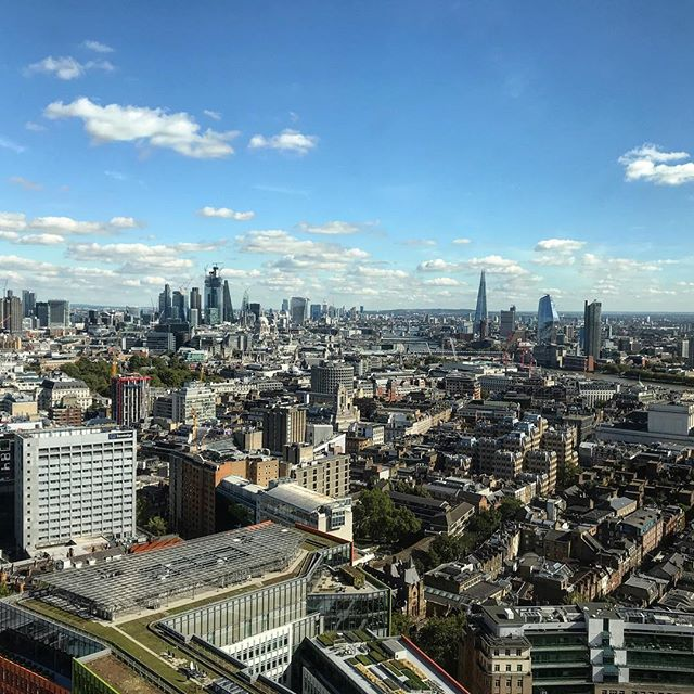 What an amazing day to be on the 32nd floor @centrepointresidences the perfect autumn day to set up our press launch with @gestalt_lighting and @fromentaldesign wall coverings, five installations will present new collections from both brands followed by a party in the sky. #christopherjenner #gestaltlighting #fromental #newcollections #lighting #centrepoint #london #partyinthesky