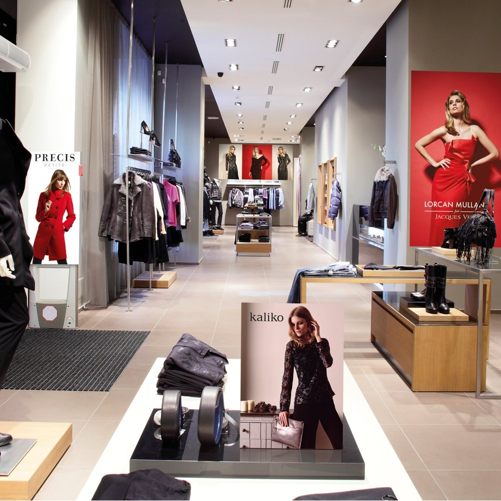 Retail Graphics - High quality retail graphics for brands that need something special.We provide print solutions for retailers where colour and finish is a prime concern - for example, for fashion and accessories retailers, and where there are complex fulfilments required for multiple stores and concessions.