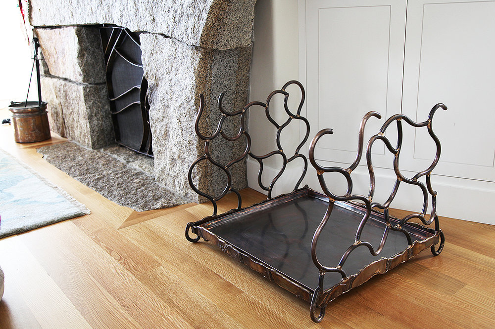 Fireplace Screens and Tools by Chris Williams