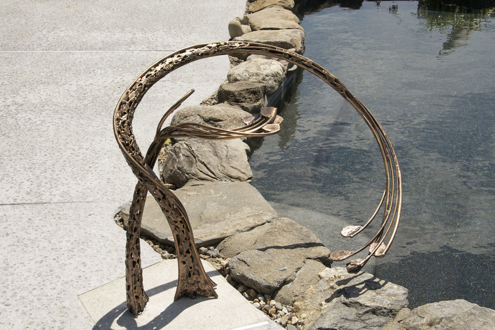 Pool Railing by Chris Williams Sculptor