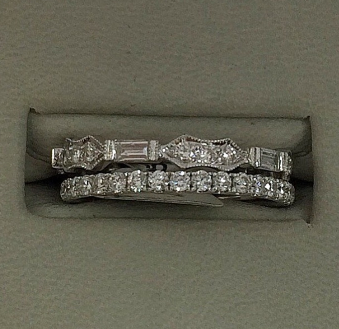 Stack rings are very on trend today…