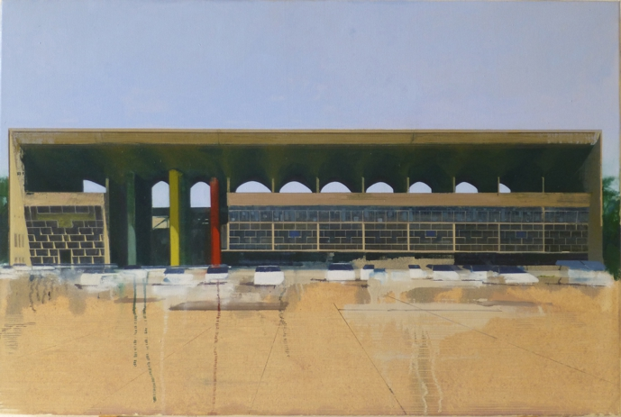 Le Corbusier Chandigarh Four  105 x 70cm