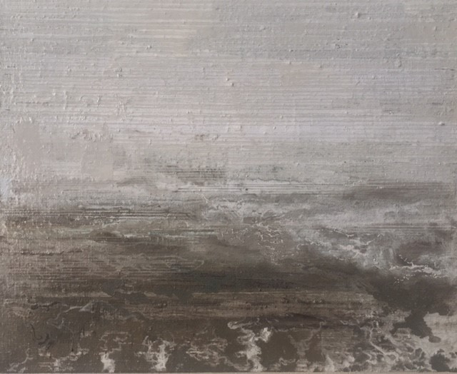 North Sea Melancholia two  25 x 20cm oil on canvas