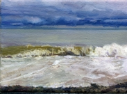 North Sea study 6  18 x 12cm