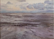 North Sea study 9  18 x 12cm  Private Collection