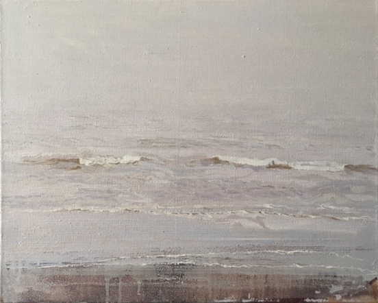 North Sea study 23  50 x 40 cm oil on canvas