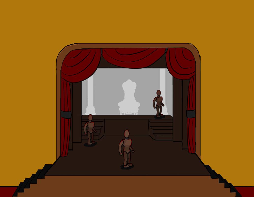 Storyboard - Sarastro's Palace