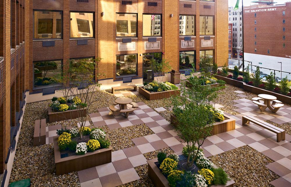 Huntington Bank Roof Garden