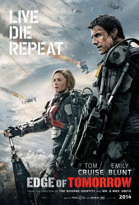 - POSITION: Producer, Unit Production ManagerSTUDIO: Warner BrosYEAR: 2014GENRE: Action, Adventure, Sci-FiPLOT: A solider fighting aliens gets to relive the same day over and over again, the day restarting every time he dies.DIRECTOR: Doug LimanCAST: Tom Cruise, Emily Blunt, Brendan Gleeson, Bill PaxtonLOCATION: England, UKIMDBIMDB PROTRAILERBEHIND THE SCENESBOX OFFICE MOJOSTREAMING