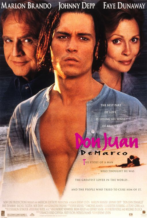 - POSITION: Co-Executive ProducerSTUDIO: New Line CinemaYEAR: 1994GENRE: Comedy, Drama, RomancePLOT: A psychiatrist must cure a young patient that presents himself as Don Juan, the greatest lover in the world.DIRECTOR: Jeremy LevenCAST: Marlon Brando, Johnny Depp, Faye DunawayLOCATION: California/New York/Hawaii, USAIMDBIMDB PROTRAILERBOX OFFICE MOJOSTREAMING