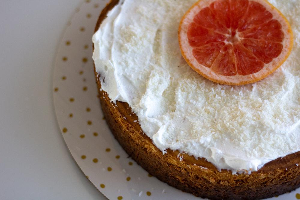 - Tropical Keto (Cheese) Cake