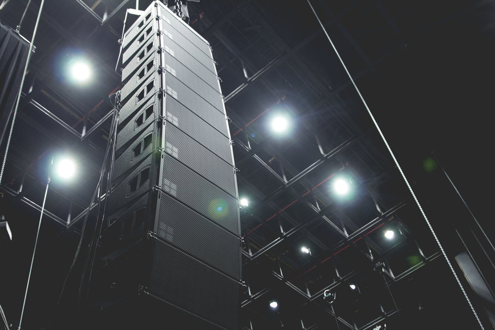 Toyota Music Factory D&B Line Array
