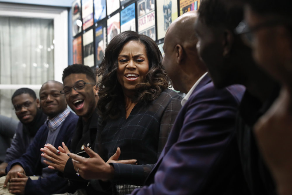 Thank you, Michelle Obama, for your book's hard truths about the post-racial myth - Michelle Obama is showing us the need for difficult and essential conversations about race.Read the story on The Seattle Times.