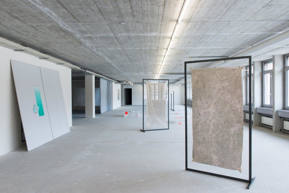 Exhibition view: Zurich, Color Catchers, photo by Jeremy Ayer.