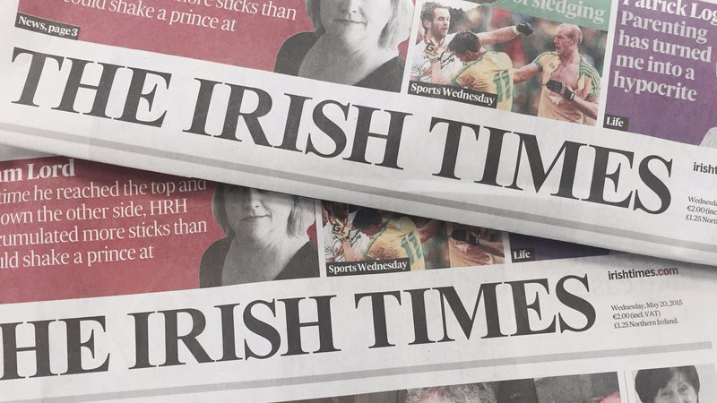 An Irishman's Diary