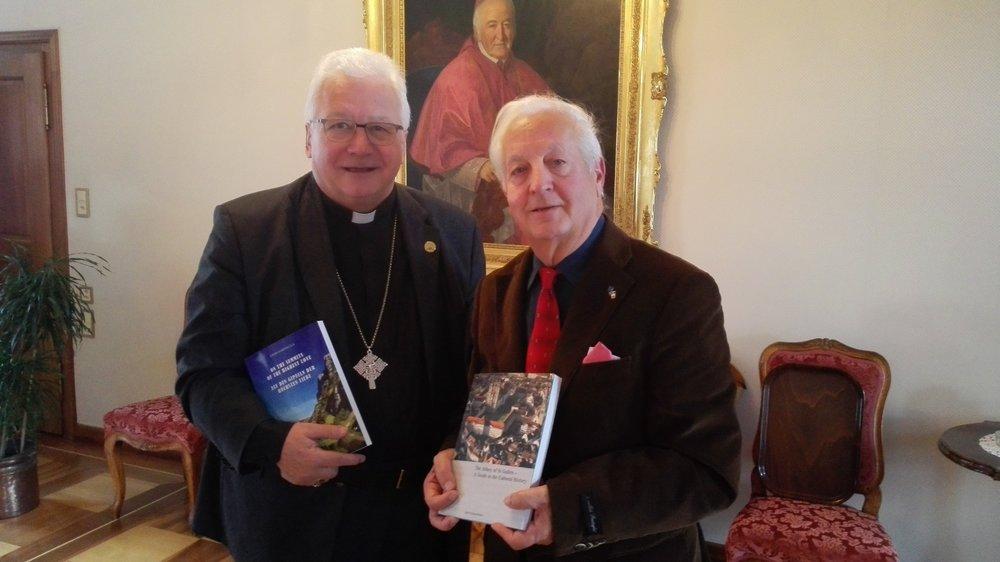 I monaci d'Irlanda in Svizzera: Il Vescovo di S. Gallen S.E, Markus Büchel ed Enzo Farinella