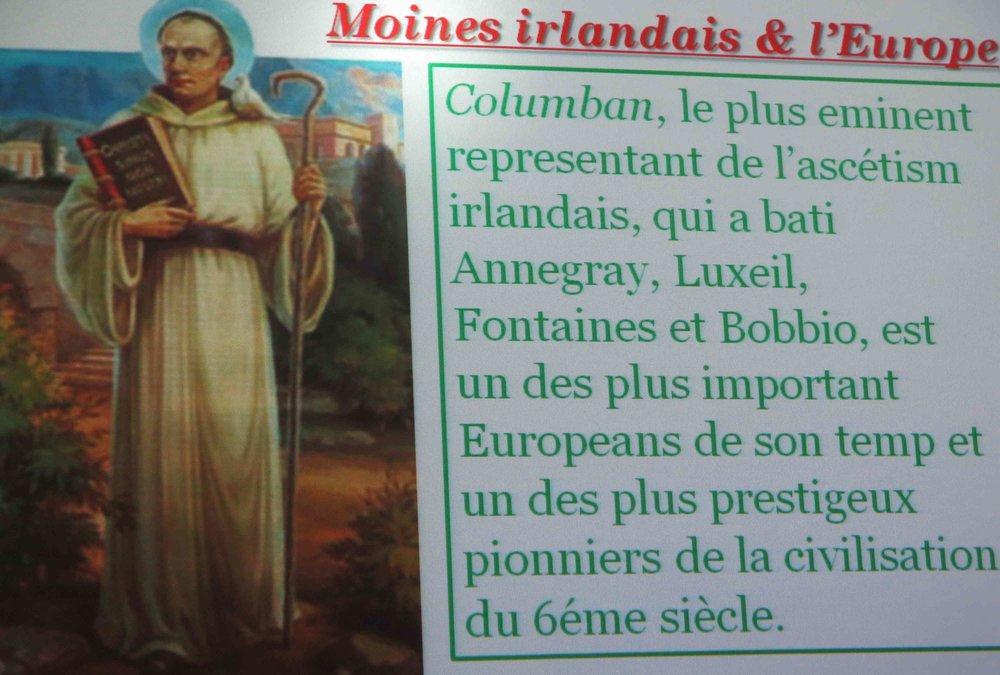Nous sommes tous des enfants de moines irlandais