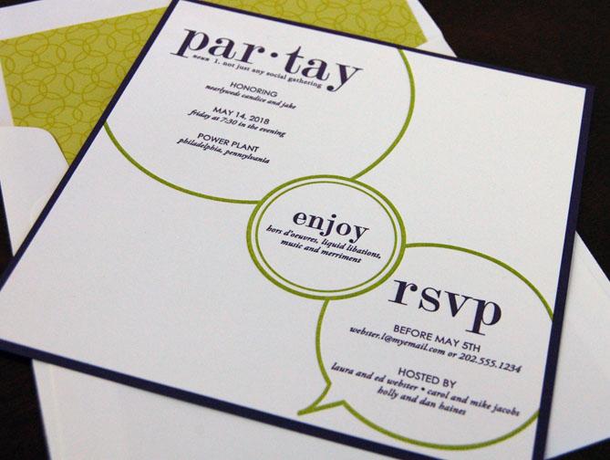 Houston Party Invitations