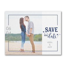 Custom Save the Dates Houston