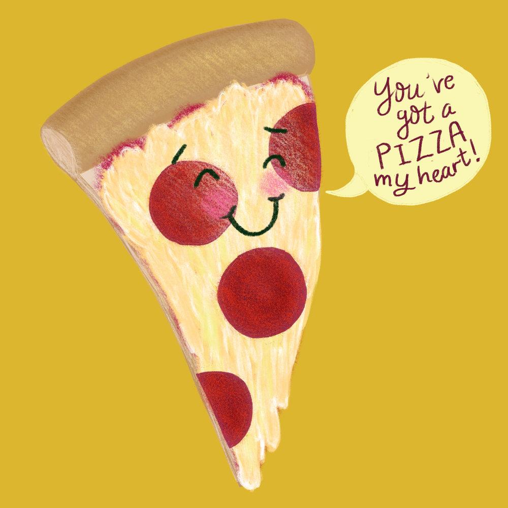 Punny Food Illustrations - Junk Food