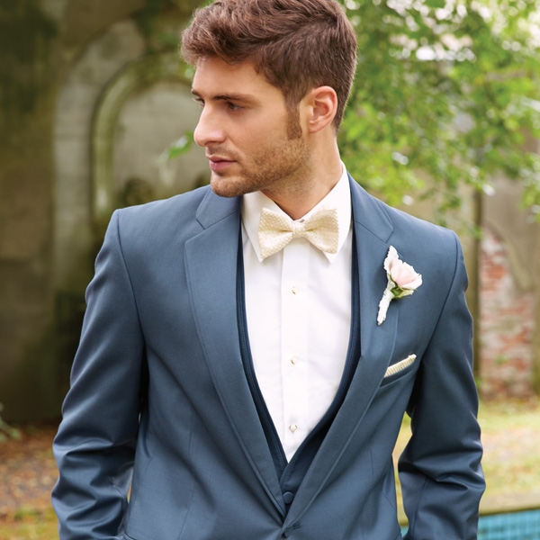 ALLURE SLATE BLUE BARTLETT SLIM FIT TUXEDO