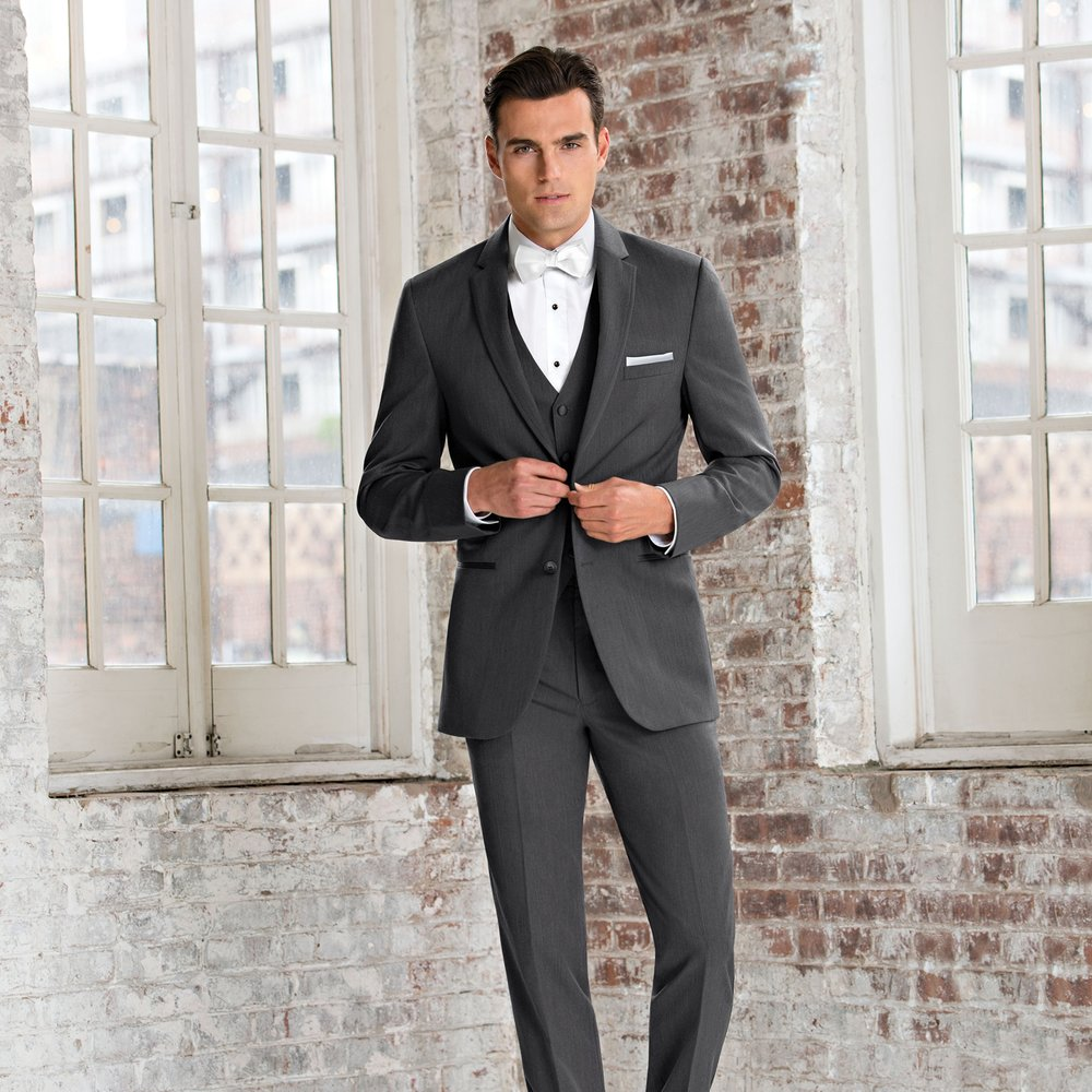 MICHAEL KORS STEEL GREY SLIM FIT SUIT