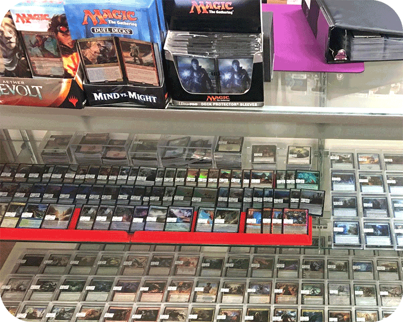 Magic: The Gathering players! - Check out our Game Center web store page to browse the inventory and calendar of weekly events at the More Fun Game Center!