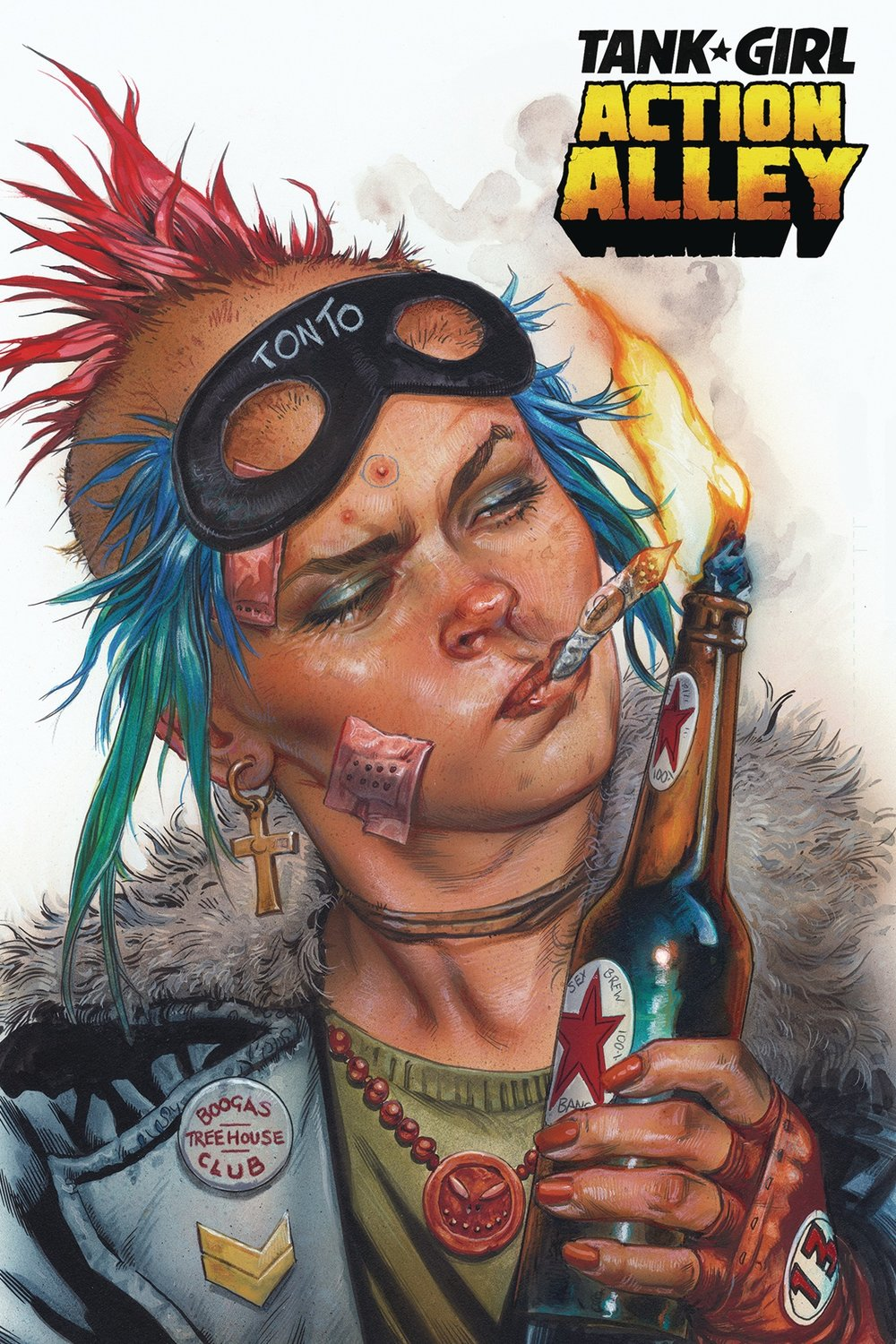 Tank Girl Action Alley #1