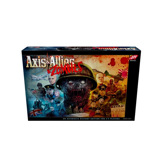 Axis and Allies and Zombies by Avalon Hill