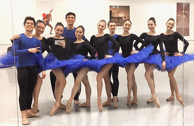 Check out this ensemble selfie by our takeover student, Gaby. 🔵🔵🔵YAGP Finals are right around the corner. Join us TONIGHT in Studio A for an amazing preview showcasing all of our students competing in YAGP finals in NYC.  We invite you to a buffet dinner and a talkback with the Directors, Bo and Stephanie immediately after the performance. Suggested donation for the buffet is $10 at the cafe entrance. Performance starts at 6pm.