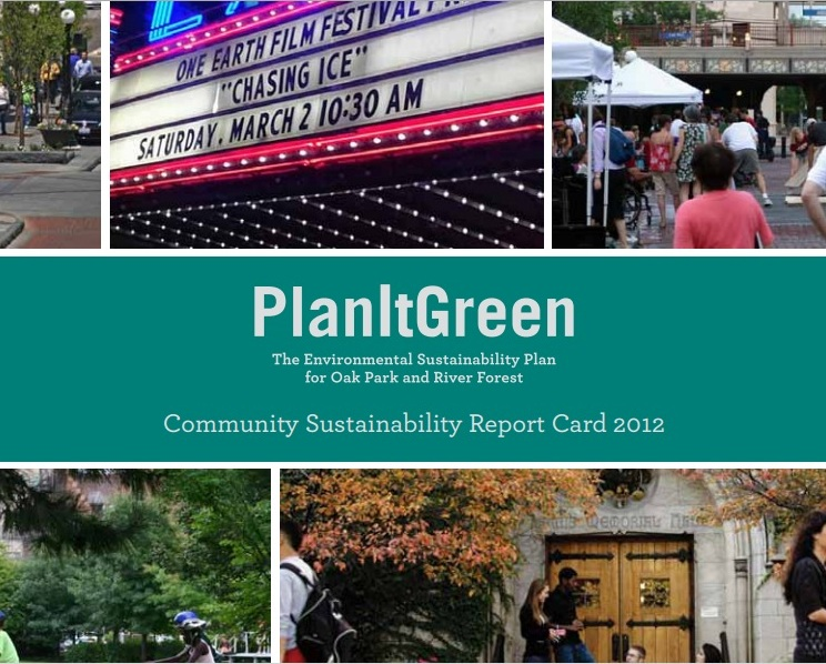 PlanIt Green, The Environmental Sustainability Plan for Oak Park and River Forest.