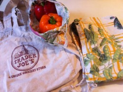 Homemade reusable bags