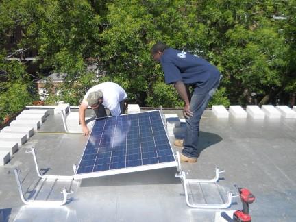 Euclid Solar installation 2014