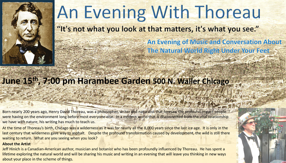 An Evening with Thoreau2