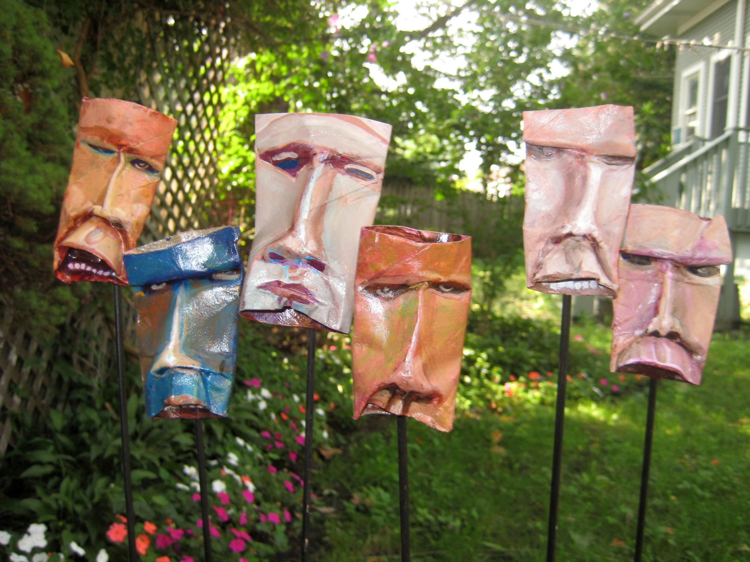 """Shrunken Heads"" - Jonathan Franklin -jfranklinart.com"