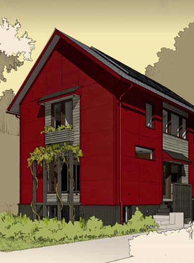 Modular Prefab Modern Farmhouse at 634 N. Taylor St. in Oak Park will be certified as a Department of Energy Zero Energy Ready Home.