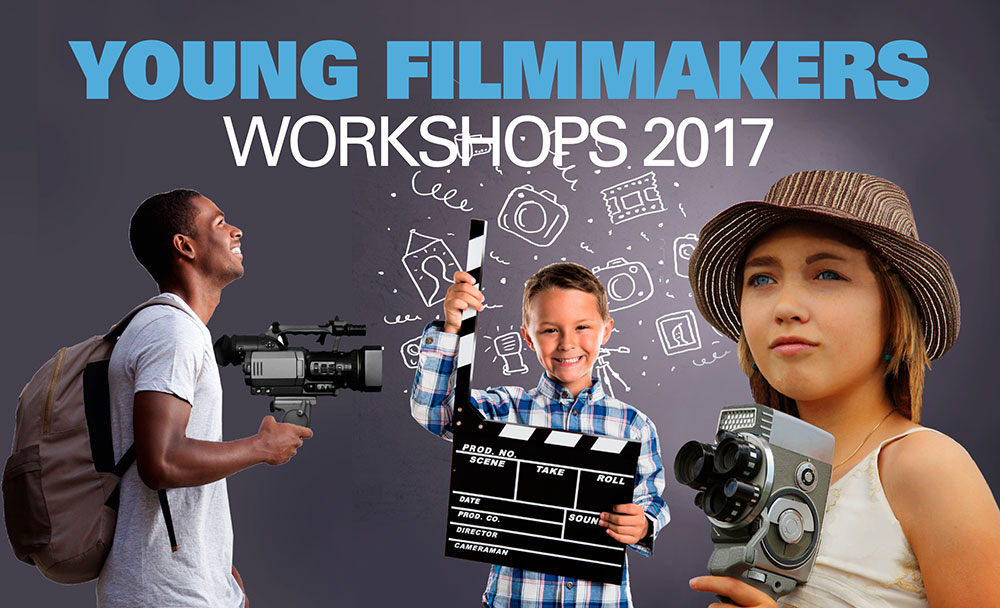 Young Filmmakers Workshhops poster for 2017.