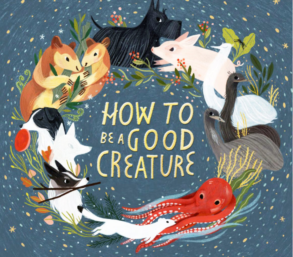 """""""How to be a Good Creature"""" is a New York Times bestseller; author Sy Montgomery is a National Book Award finalist."""