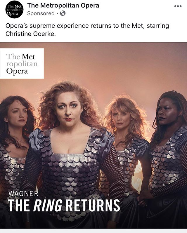 When @rebeccamagazine appears in @metopera ads everywhere 🥰  #BreakingSurface #MetropolitanOpera #METOpera #giglife #aerialnation #aerialarts #circusarts #circusinspiration #aerialharness #harnesswork #wirework