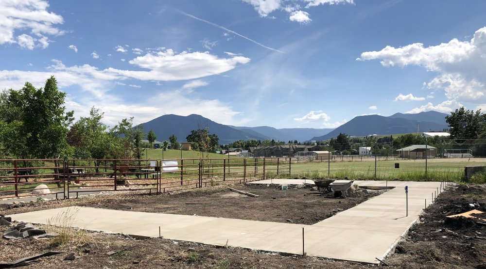 This new habitat is adjacent to our picnic area, and the viewing windows and outdoor yards will get full morning sun with some afternoon shade, not to mention an absolutely amazing view!