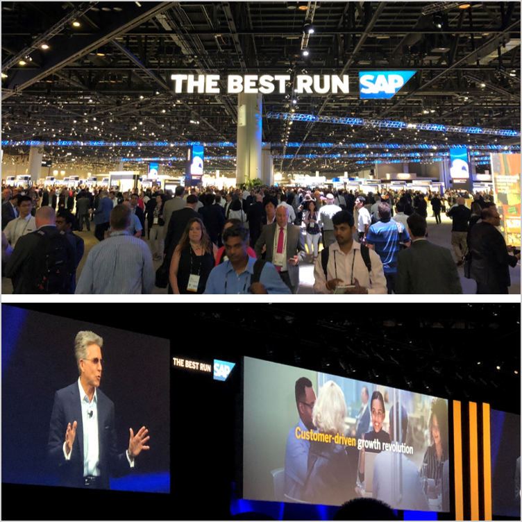 "SAP's annual conference; key theme: ""Customer-driven growth revolution""  - Orlando, FL Jun 2018"