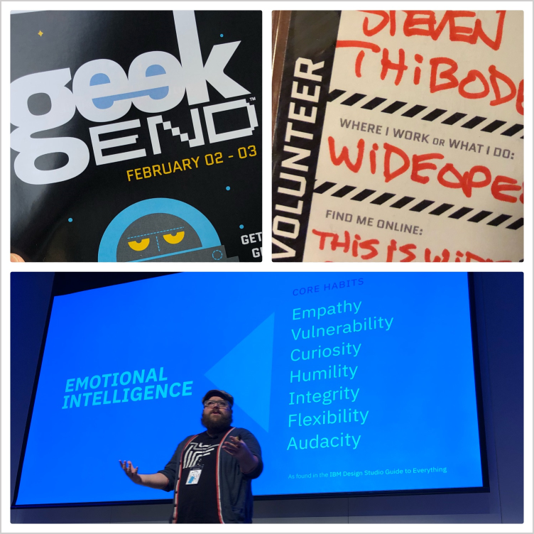 Geekend Tech Conference: Emotional intelligence & customer centricity  - Savannah, GA, Feb 2018