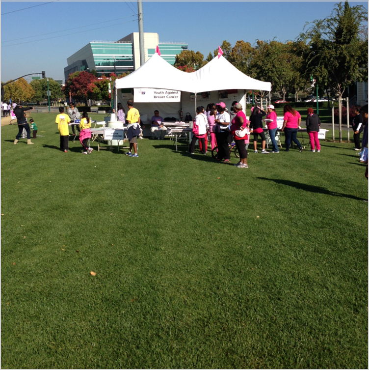 American Cancer Society event  - San Jose, CA, Oct 2013