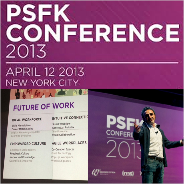 Participated in a panel discussion on the evolution of work and the impact of user-centric design, PSKF Conference  New York, NY, Mar 2013