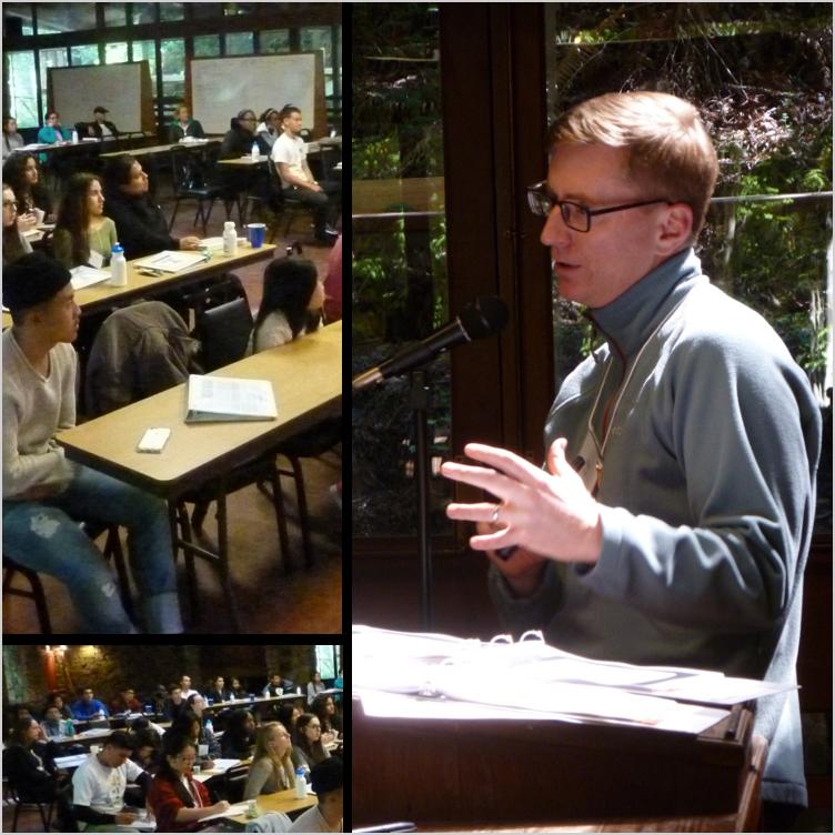 Teaching marketing and customer empathy at a high school entrepreneurship retreat  - Oakland, CA, Mar 2017
