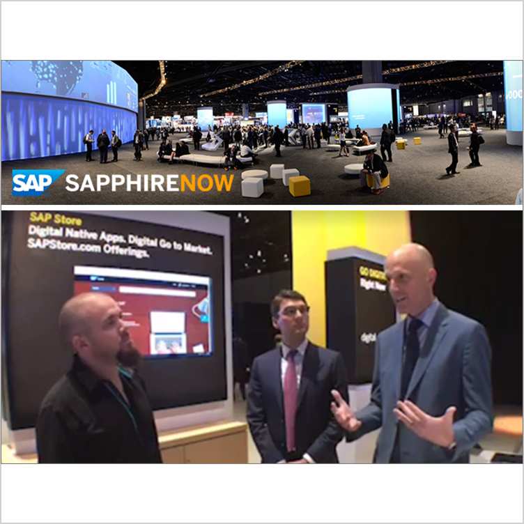 Participating in an Facebook Live interview at SAP's annual conference  - Orlando, FL, May 2017