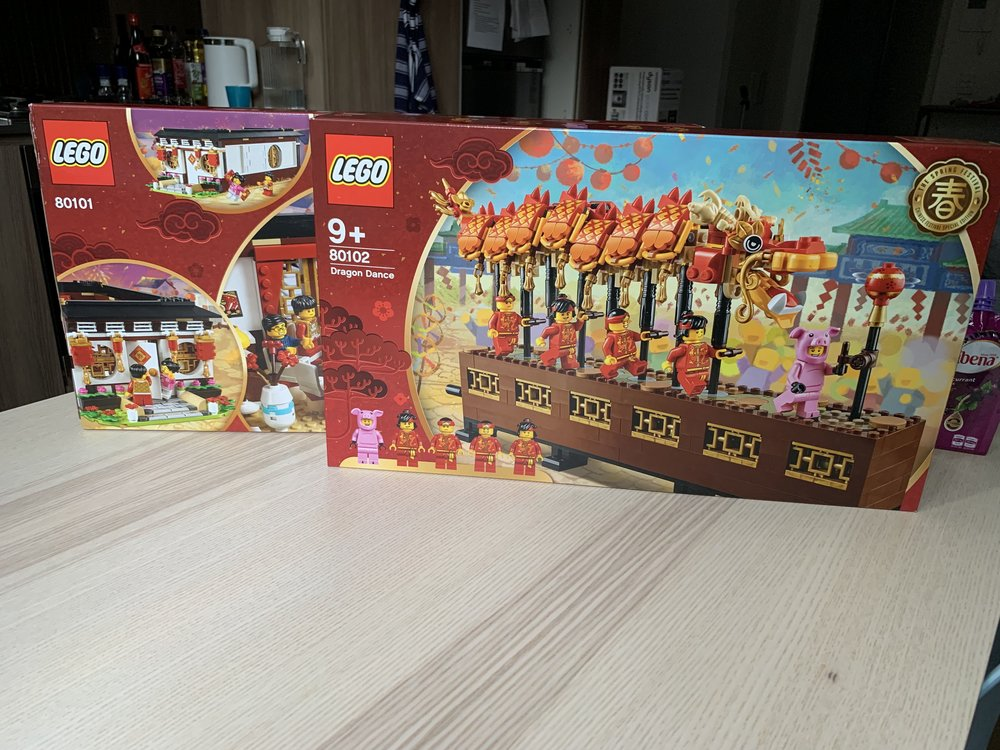 2 Chinese New Year themed sets