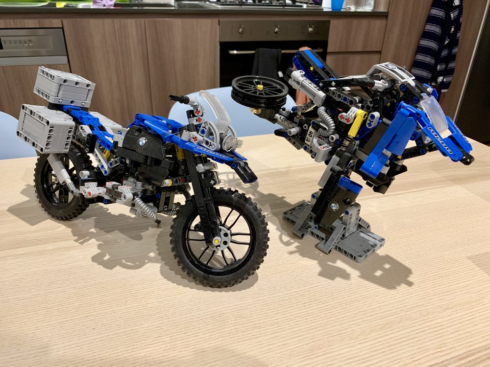 I loved this BMW GS set that I bought 2 just have have the alternative build as well!